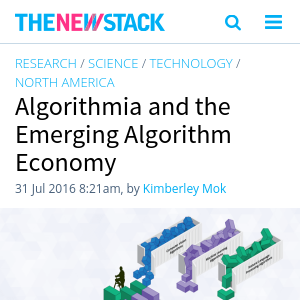Extract Structured Data From Web Sites – Algorithmia